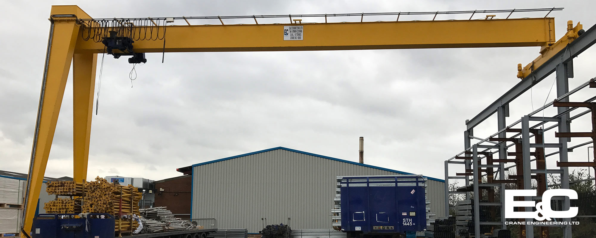Overhead Crane Lifting Procedure : E c crane engineering ltd new used cranes