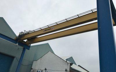 Street 20t crane & gantry