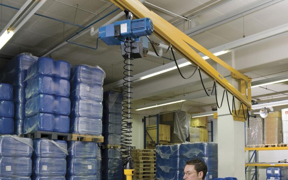 pillar mounted jibs